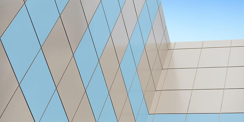 Pereți din aluminiu compozit